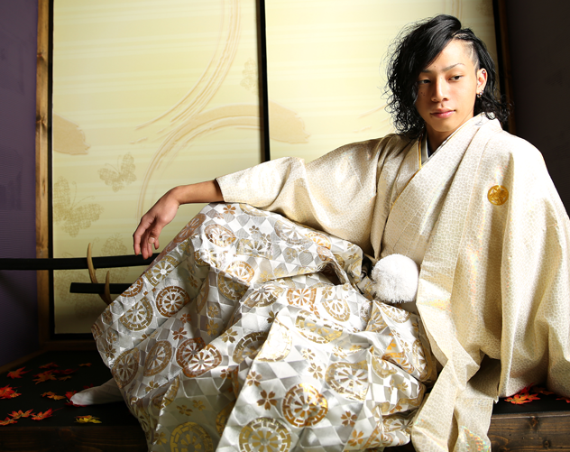成人式 男性袴 レンタル
