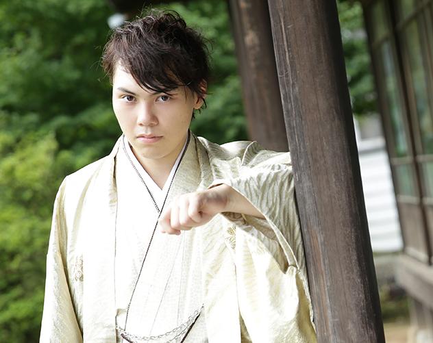 成人式 男性袴 撮影