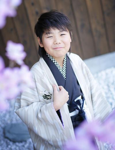 男の子卒業袴